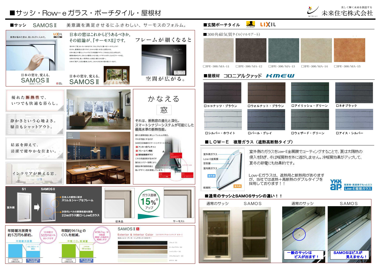 サッシ・ポーチ・屋根材